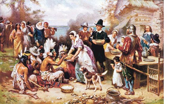 The History of Thanksgiving   Go To Places Monthly